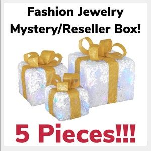 Fashion Jewelry Mystery Box Reseller Box 5 Pieces